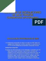 Tema II. Instalaciones Provisionales de Obra