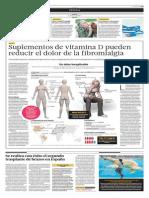 Suplementos de Vitamina D Pueden Reducri El Dolor de La Fibromialgia