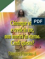 Immagine-poster - V Domenica Di Quaresima - A