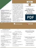 Ordinamento Italiano Del Mercato Finanziario 26 Ott