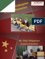 jes kindergarten presentation 2014