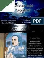 """Simbolistica visului in """"Luceafarul"""""""