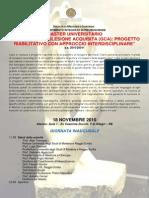 Inaugurazione Master Grave Cerebrolesione Acquisita 18 Nov