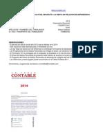 Cálculo de Impuesto a la Renta PNNOLC en relación de dependencia 2013