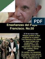 Enseñanzas del Papa Francisco - Nº 50