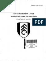 Fulham Football Club Limited 2013