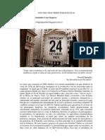 1929-2008. Dos Crisis Paralelas I