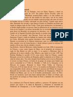 San Bernardo de Claraval - Obra e Itinerario Vital