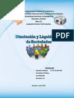 Disolución y Liquidación de sociedades