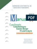 manual caracterológico