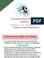 Comunicaciones Internas y Externas