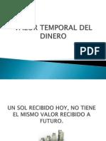 Valor Temporal Del Dinero