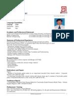 CV Tran Vinh Loc