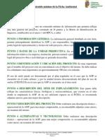 Detalle Del Contenido Mnimo de La Ficha Ambiental