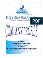 Por Venus Marketing (PVM) - Profile
