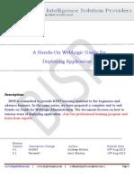 120964540 a Hands on WebLogic Guide ForDeploying Application