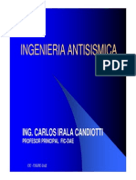 Introduccion Curso Ingenieria Antisismica - 2012
