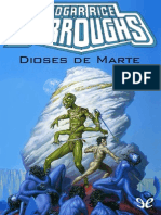 Burroughs Edgar Rice - [John Carter 02 Dioses de M