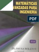 Matemáticas Avanzadas para Ingeniería Vol. 1 - 3ra Edición - Erwin Kreyszig