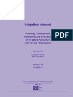 Irrigation Manual - Night Storage Reservoirs