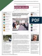 01-04-2014 'Se renueva Consejo de Salud; pacta con el Municipio nuevo Convenio para mejorar Calidad de Prevención'