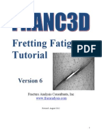 Franc3D V6 Ansys Fretting Tutorial