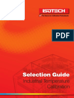 Selection guide for Industrial Calibration