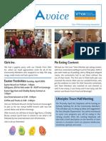 V!VA Pickering April 2014 Newsletter