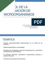1 CONTROL DE LA DISEMINACIÓN DE MICROORGANISMOS