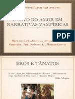 O mito do amor em narrativas vampíricas