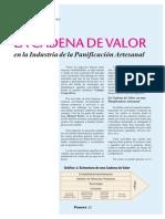 Cadena de Valor Del Pan