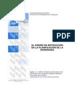 Aguilar 2004 El diseño de instrucción en la planificación de la enseñanza
