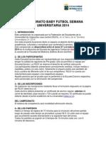 CAMEPONATO BABY FUTBOL SEMANA UNIVERSITARIA 2014.docx
