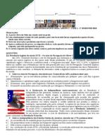 provão EJA -  7 serie - 2 semestre 2010