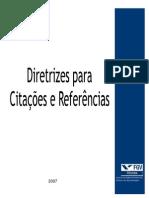 Diretrizes Citaes e Referncias (1)