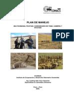 Plan Manejo Vicunas Multicomunal Picotani[1]