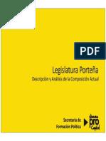 Legislatura Porteña. Composición 2012.