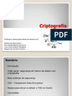 I - Criptografia