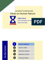 Conservative Fundamentals -  Human Nature - NATURE