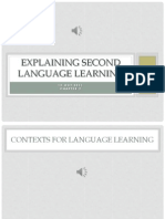 Ch2 Second Lang Learning