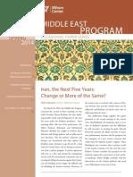 Iran, the Next Five Years