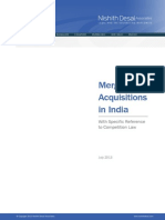 Mergers & Acquisitions in India