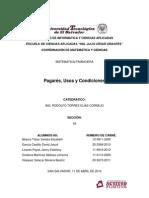 Investigacion MF - Pagarés, Usos y Condiciones
