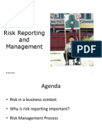 Risk Reporting and Management