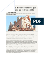 Guido Carelli Lynch - La Unesco dice desconocer que el gobierno se retiró de Villa Ocampo.