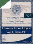 CERES News Digest - Week 11, Vol.4, March 31-April 4
