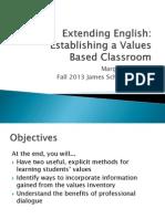 extending english james scholar project