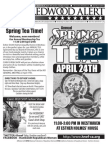 HRWF April 2014 Redwood Alert
