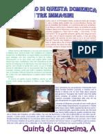 Vangelo in Immagini v Domenica Quaresima A
