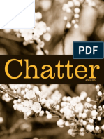 Chatter, April 2014